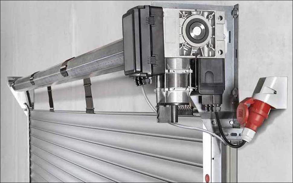 Ipari redőnykapu motor és hajtómű